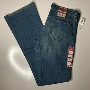 NWT Old Navy Flirt Distressed Bootcut Blue…